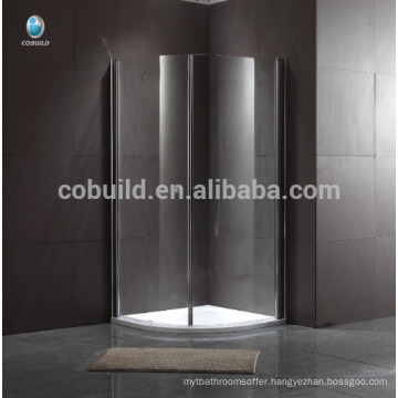 popular Luxury shower cabin Frameless sliding glass shower room