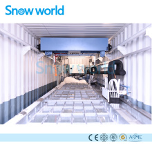 Snow world 5T Machine à glace en bloc