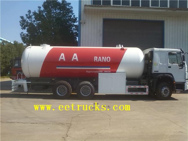 Propane Tanker Trucks