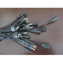 Cable de alimentación de enchufe europeo VDE schuko / VDE / EU
