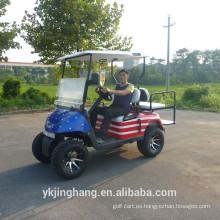 Carro de golf EZGO 3000W de 4 plazas