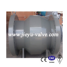 Válvula de retención de flujo axial de acero fundido