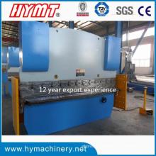 Machine à cintrer hydraulique de plaque d'acier Wc67y-80X2500 / machine de pliage hydraulique