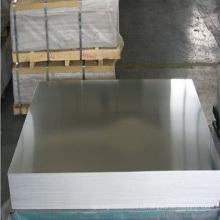 hoja de aluminio acabado molino