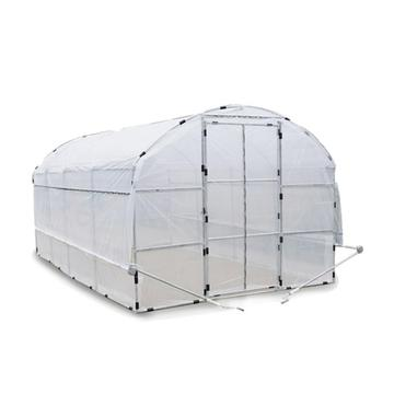 High quantity Round Roof Walk-in Garden Greenhouse