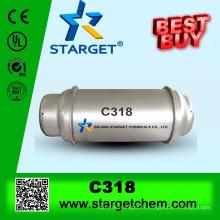 Octafluorocyclobutane, C-318, H-318, C318, R-318, R318, C4F8