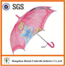 Professionnels Auto Open mignon impression petits enfants parapluie