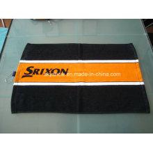 100 % Baumwolle reaktiv bedruckte Golf Handtuch (SST1006)
