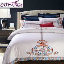 hotel living 5 star luxury home bedding/hotel bedding sets 5 star 100% cotton
