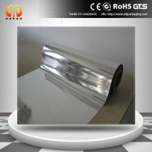 silver reflective mylar film