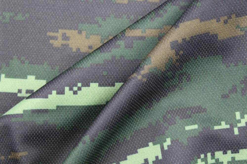 Flame Retardant Polyester Cotton Digital Printing Knitting Fabric