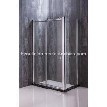 Cabina doccia con grandi rulli
