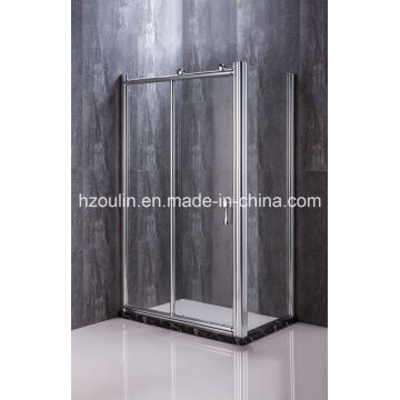 Cabine de douche avec gros rouleaux