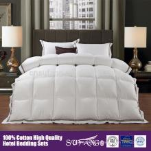 cama set colchão topper algodão pena edredão de penas e pena edredon