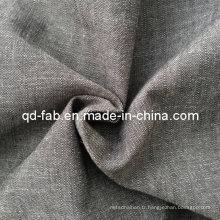 Tissu 100% coton teinté en fil de coton (QF13-0762)