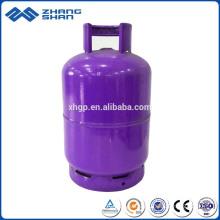 O fabricante fornece diretamente um cilindro de 4 kg Lpg com cores diferentes