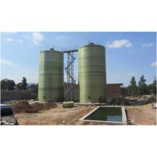 500 M3 Réservoir de fermentation au biogaz fabriqué par fibre de verre