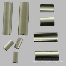 Industrial Permanent Motor Magnet 38uh Neodym Magnete Nickel Fertig