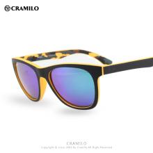 Cramilo Beach Force квадратный wayf club Frame UV400 Покрытие Зеркало градиент Открытый Мода Радиационные Многоцветные Солнцезащитные очки BF555R