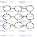 Metal Ring Mesh for Decoration