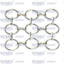 Metal Ring Mesh para decoración