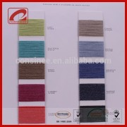 Topline inspiring design100% cotton core spun yarn for outer wear