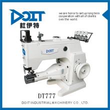 Machine à coudre interlock haute vitesse lit de cylindre DT777