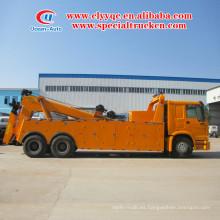 El camión de carga pesado de la venta HOWO 6x4 de la remolque de la remolque baja precio