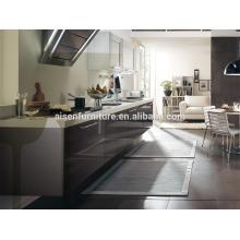 A melhor escolha de fábrica diretamente economizando espaço de cozinha cinza