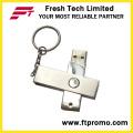 Rotação de metal USB Flash Drive (D301)