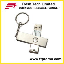 Rotación de metal USB Flash Drive (D301)