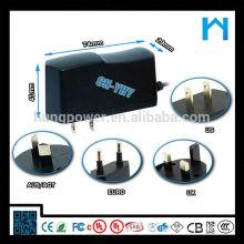 Adaptador de corriente alterna 12v AC 800ma 9.6w