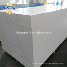 JINBAO 3/16 inch black, large, high density PVC foam board for furniture