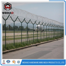 fence top razor barbed wire
