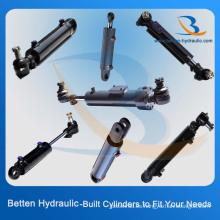 Cilindro hidráulico 3000 Psi con soportes de bolas giratorias