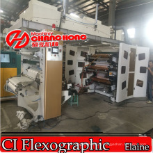 Gearless Ci Flexo Printing Machine