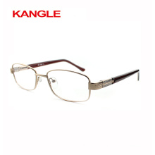 High Fashion Cheap Economic basic line metal optical frames / metal eyeglasses for Lady