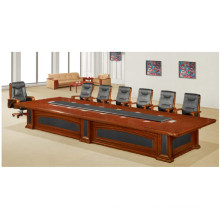 Cherry Wood Veneer Office Conference Furniture Meeting Table