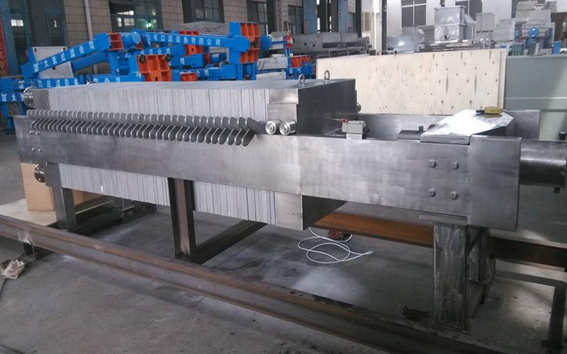 Cast Iron Plate Type Filter Press