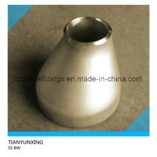 B16.9 Réducteur excentrique en acier inoxydable sans soudure bout à bout