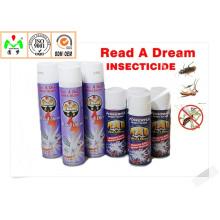 China Chemical Areosol Spray Insecticida / plaguicida de control de plagas de alta calidad