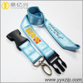 printed polyester cell phone lanyard with custom design