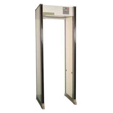 33 zonas a través de detector de metales Vo-3300