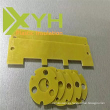 Pieza electrónica que trabaja a máquina amarilla de la pieza 3240 del CNC que trabaja a máquina