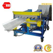 Máquina de telhado de costura permanente com corte manual