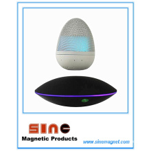 Altavoz inalámbrico de Bluetooth de la levitación magnética de la forma del huevo de la manera