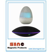 Haut-parleur sans fil Bluetooth de lévitation magnétique de forme d'oeuf de mode
