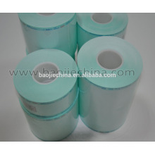 Rollos médicos de esterilización de película azul / verde