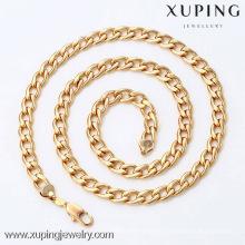 42335 - Xuping мужчин мода ожерелье с 18k позолоченный