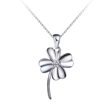 latest designs pendant four leaf clover shaped pendant jewelry